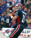 He still has a great arm: Drew Bledsoe of the Bills.