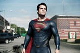 "PHOTO COURTESY WARNER BROS. PICTURES - Henry Cavill in ""Man of Steel."""