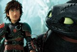 """PHOTO COURTESY DREAMWORKS ANIMATION - Hiccup and Toothless in """"How to Train Your Dragon 2."""""""