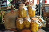 PHOTO BY AMY SEIFERT - Hurd Orchards in Holley sells a variety of jarred and preserved fruits, as well as fresh pickings.