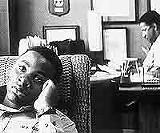 "20TH CENTURY FOX - I guess he's OK, OK? Newcomer Derek Luke in ""Antwone Fisher."""