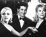 "I need to be a freebird: Reese Witherspoon, Patrick Dempsey, and Candice Bergen in ""Sweet Home Alabama."""
