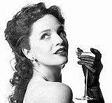 Ingnue or soubrette? Jennifer Gould as Gigi.