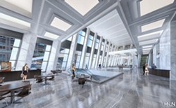 Inside the renovated Chase Tower. - PROVIDED IMAGE