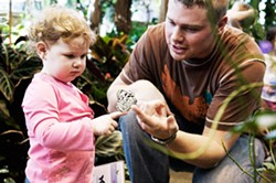Interact with butterflies at the Museum of Play's Butterfly Garden. - FILE PHOTO