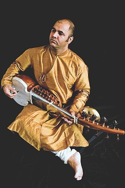 International sarodist Aditya Verma will perform at the University of Rochester on December 3. - PHOTO PROVIDED