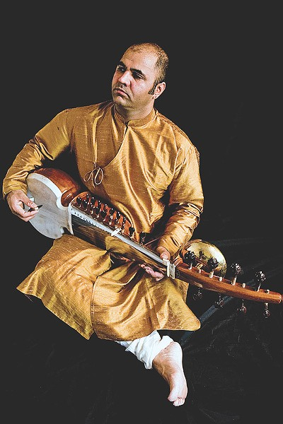 International sarodist Aditya Verma will perform at the University of Rochester on December 3. - PHOTO PROVIDED