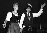 LINDA KOSTIN - It's all German to me: Bavarian Verein Alpengruen folk-dancing troupe.
