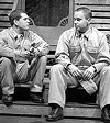 "It's an army life: Dennis Staroselsky and Sam Misner in ""Biloxi Blues."""