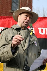 PHOTO COURTESY GREENPEACE - James Hansen retired from a NASA job to devote more time to climate activism.