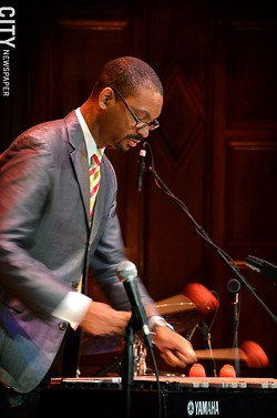 Jason Marsalis performed as part of a quartet at Kilbourn Hall. - PHOTO BY MATT DETURCK