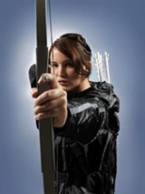 "PHOTO COURTESY LIONSGATE - Jennifer Lawrence as Katniss Everdeen in ""The Hunger Games: Catching Fire."""