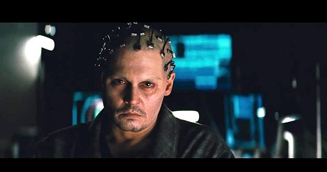 "Johnny Depp in ""Transcendence."" - PHOTO COURTESY ALCON ENTERTAINMENT"