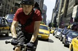 "PHOTO COURTESY COLUMBIA PICTURES - Joseph Gordon Levitt in ""Premium Rush."""
