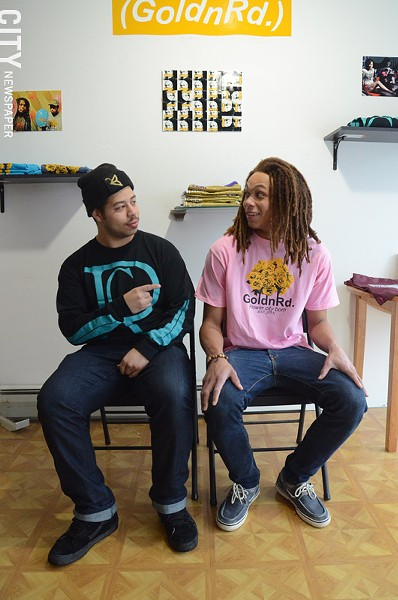 Josiah Montalvo (left) & Ajani Jeffries (right) - PHOTO BY LARISSA COE