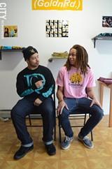 Josiah Montalvo (left) & Ajani Jeffries (right) - PHOTO BY LARISSA COE