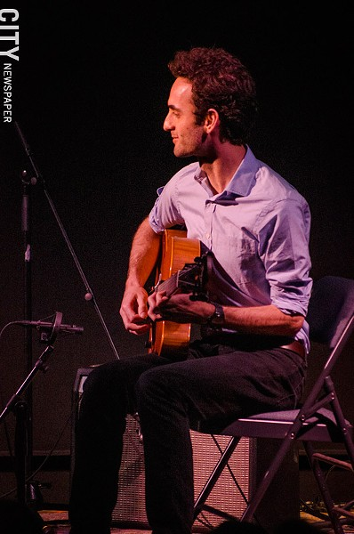 Julian Lage at the Little Theatre. - PHOTO BY MARK CHAMBERLIN