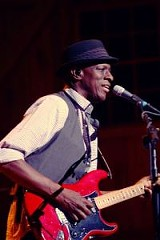 Keb' Mo' performed with Daryl Hall at Kodak Hall Thursday, June 28. PHOTO BY FRANK DE BLASE