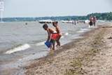 FILE PHOTO - Lake Ontario and Durand Eastman Beach.