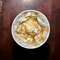Leaf & Bean Coffee Co. - PHOTO BY MATT DETURCK