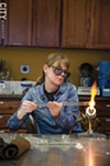 Learn how to work with glass, or even how to blacksmith, at the Rochester Arc & Flame Center.