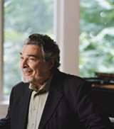 "PHOTO PROVIDED - Legendary pianist Leon Fleisher lost control of two fingers on his right hand, but has refused to give up on music. ""Music is always there for you,"" he says. ""There's no need ever to relinquish it."""