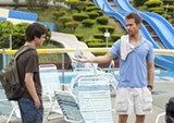 "PHOTO COURTESY FOX SEARCHLIGHT PICTURES - Liam James and Sam Rockwell in ""The Way, Way Back."""