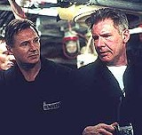 "PARAMOUNT PICTURES - Liam Neeson and Harrison Ford star in ""K-19: The Widowmaker."""