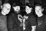 PHOTO BY FRANK DE BLASE - Local hard-rock group Heatseeker has been plugging along for more than a decade, unconcerned with whether its style is in vogue. PHOTO BY FRANK DE BLASE