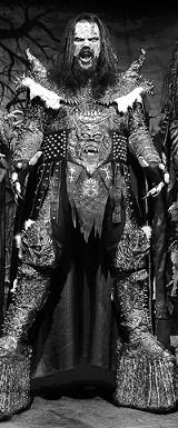 COURTESY SONY/BMG - Lordi, Lordi: - The Finnish winners of Eurovision 2006.