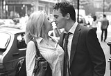 """DREAMWORKS PICTURES - Lower-caste crashers: Scarlett Johansson and Jonathan Rhys Meyers in """"Match - Point."""""""