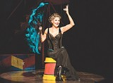 "PHOTO BY TERRY SHAPIRO - Lucie Arnaz as Berthe in the touring production of ""Pippin."" The show is currently on stage at the Auditorium Theatre."