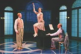 "KEN HUTH - Mark Anders, Anna Lauris, and Carl J. Danielsen in ""A Marvelous Party."""