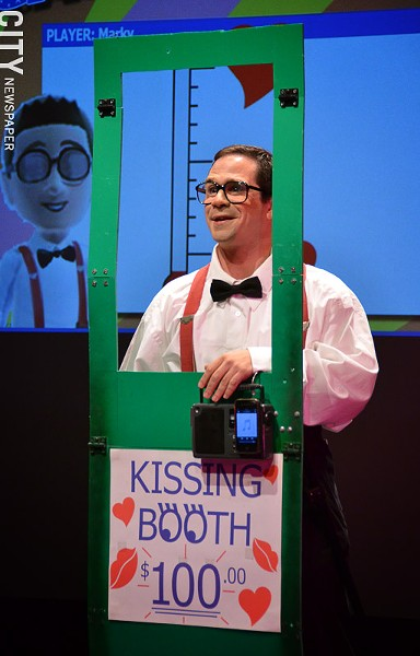 """Mark Gindick in """"Wing-Man,"""" playing at Geva Nextstage as part of the 2013 Rochester Fringe Festival. - PHOTO BY MATT DETURCK"""