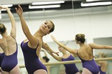 PHOTO BY GARY VENTURA - Members of RCBs Corps De Ballet rehearse part of the first act of The Nutcracker.