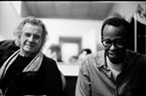 PHOTO PROVIDED - Michael Bisio (left) and Matthew Shipp (right) will perform as a duo at Bop Shop Records on Friday, September 19.