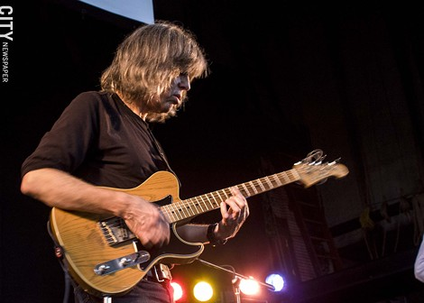 Mike Stern at the Harro East Ballroom. - PHOTO BY ASHLEIGH DESKINS