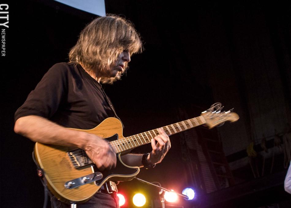 Mike Stern at the Harro East Ballroom. - PHOTO BY ASHLEIGH DESKINS