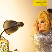 Facelift Fridays Drag Show Miss Darienne Lake PHOTO BY JOHN SCHLIA