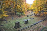 PHOTO BY MATT DETURCK - Mount Hope Cemetery is home to a variety of tours in the fall.