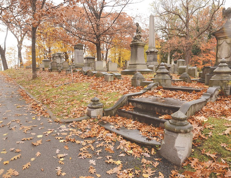 Mount Hope Cemetery will host specialty tours throughout the fall. - PHOTO BY LARISSA COE