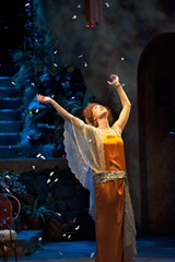 """Moya O'Connell in """"Enchanted April,"""" part of the 2013 Shaw Festival. PHOTO BY EMILY COOPER"""