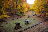 PHOTO BY MATT DETURCK - Mt. Hope Cemetery.