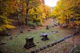 PHOTO BY MATT DETURCK - Mt. Hope Cemetery.