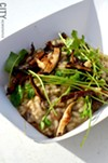 Mushroom risotto from Brick-N-Motor.
