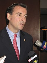 KRESTIA DEGEORGE - Nassau's Tom Suozzi: candidate for governor?