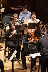 PHOTO BY JOHN SCHLIA - New-music ensemble OSSIA is an entirely student-run group based out of the Eastman School of Music.