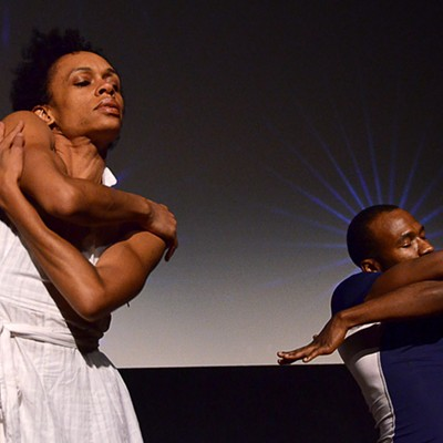 """""""Kinect the Dots"""" at Rochester Fringe"""