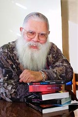 No source of comfort: science fiction writer Samuel R. Delany.