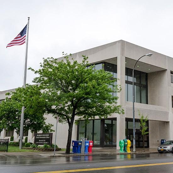 Rochester school district headquarters. - FILE PHOTO